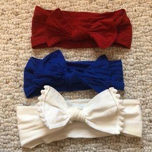 🎀 Baby Bling Nylon Baby Bows 🎀